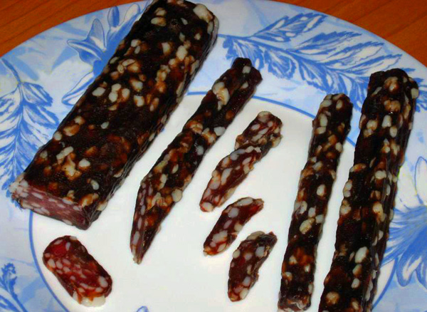 Вяленая колбаса рецепты с фото