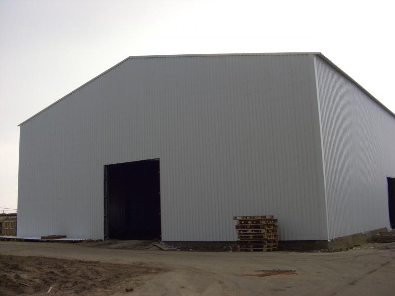Строительство ангаров складов из лстк