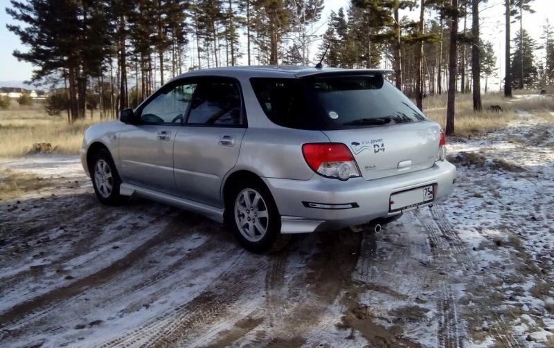 Subaru Impreza, 2003 год в ОТС