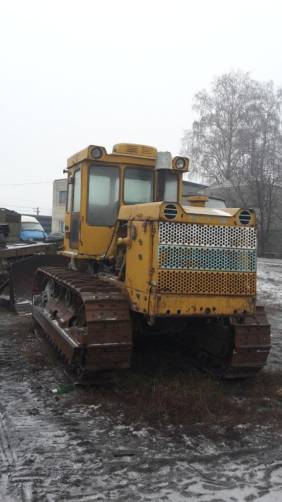 Трактор Т170 + отвал