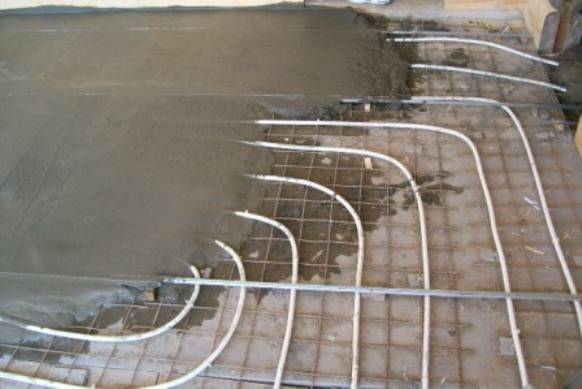 Устройство водяного пола в Тамбове и области
