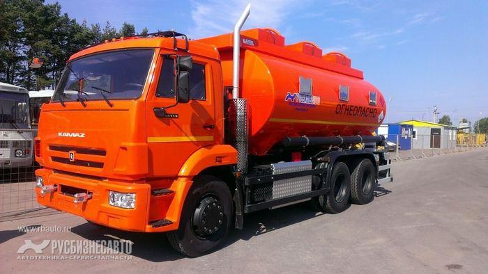 Продам АТЗ 46517 на шасси КАМАЗ-65115-3966-23 (три отсека)