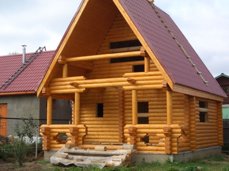 Строительство и шлифовка домов.