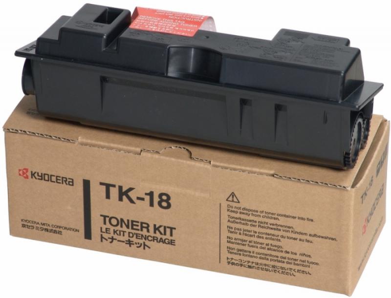 Картридж kyocera TK-18, черный