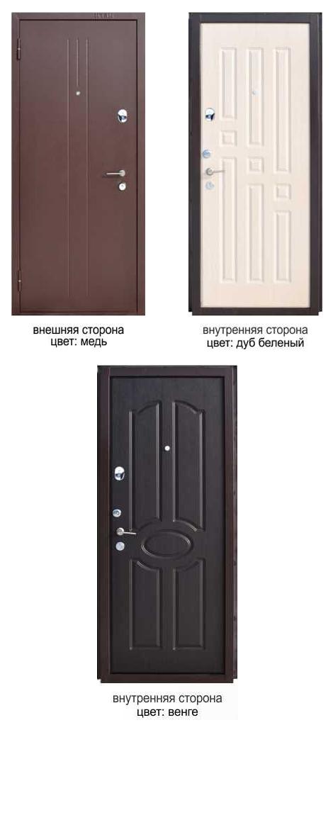 металлические двери уа