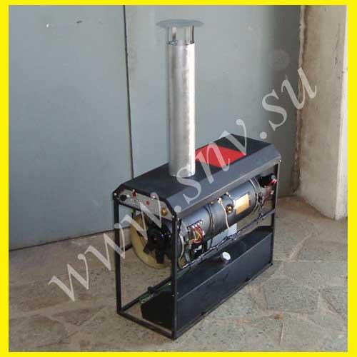 Отопительно вентиляционная установка ОВ-95 в каркасе