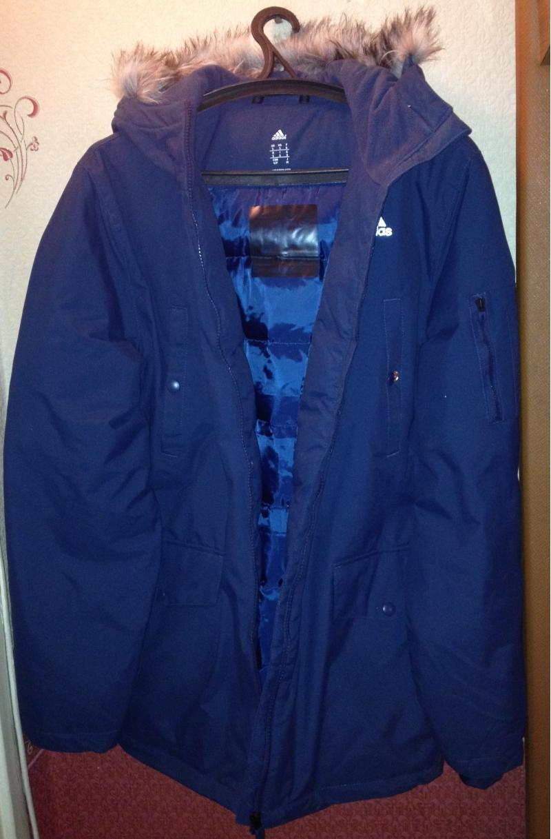 Утеплённая зимняя куртка adidas long FUR
