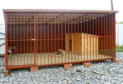 Продаем вольеры для животных металлические