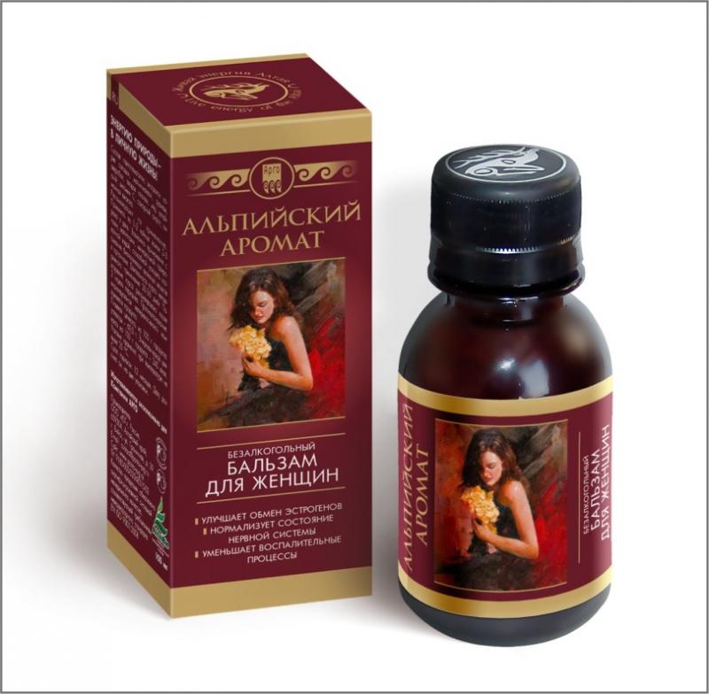 Бальзам для женщин «Альпийский аромат»