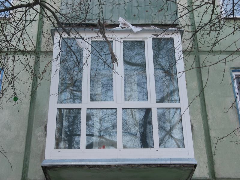 Остекление балконов и лоджий омск.