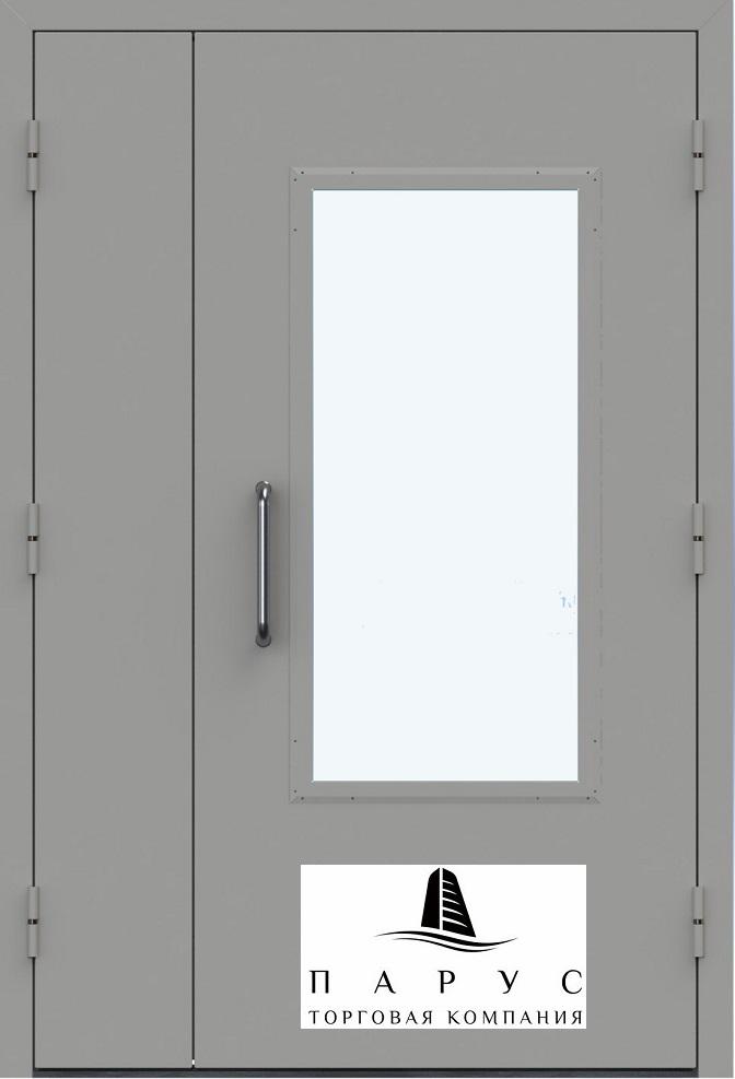 технические двупольные металлические двери