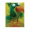 Птицы: зеленые, желтые, коричневые, синие, красные