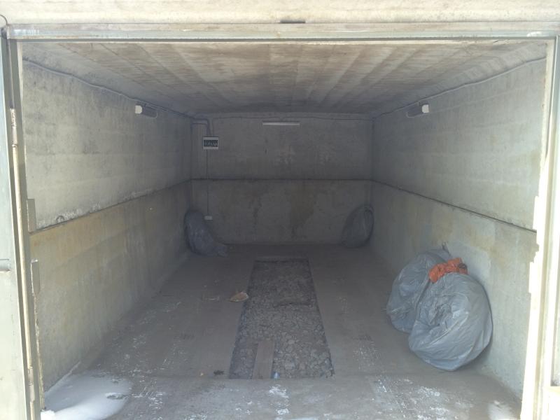 Железобетонный гараж 18 кв.м.