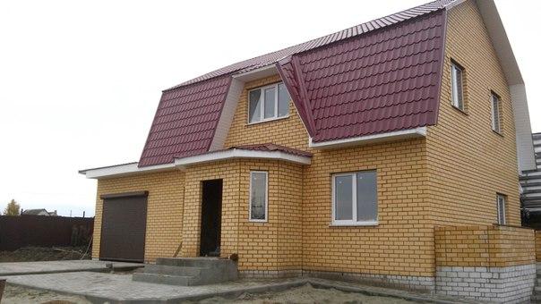 новый дом в деревне Антоновка