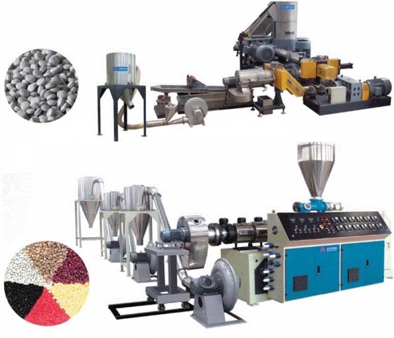 Оборудование для переработки пластмасс и пластиковых отходов