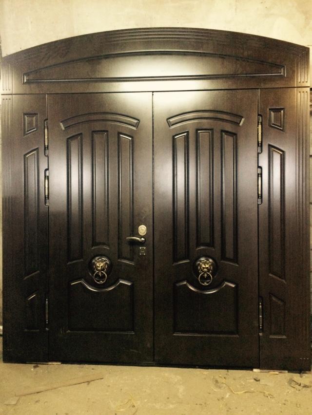 клинские металлические двери установка