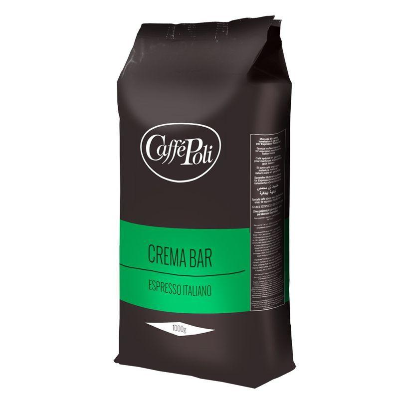 Кофе в зернах Поли Крема Бар 1 кг