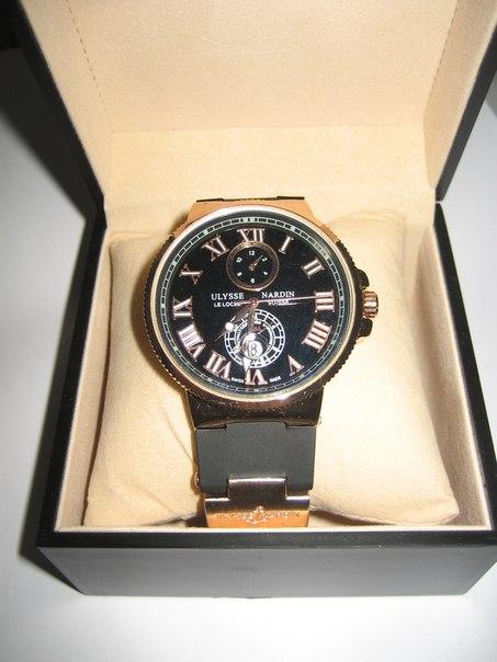 Часы Ulysse Nardin и бесплатная доставка по городу