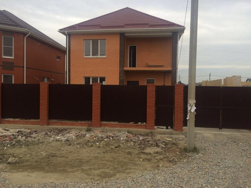 Продам новый дом в ближайшем пригороде Краснодара