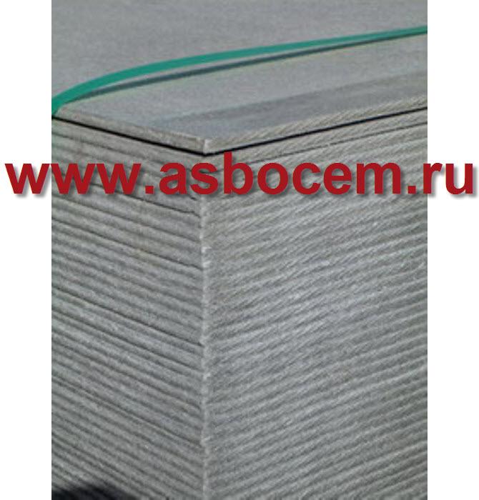 Листы асбестоцементные 3000х1200х6 мм (плоский шифер)