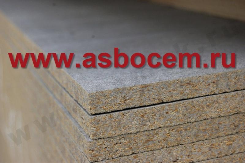 Цементно-стружечные плиты ЦСП 3200х1250х20 мм 1-го сорта ТАМАК