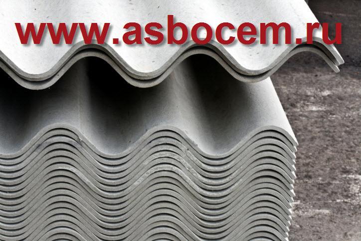 Шифер волновой 1750х1130х5,2 мм, тип СВ-40, серый, 8 волн
