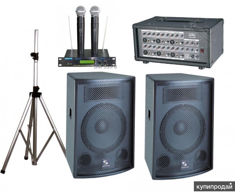 Ремонт звукового оборудования