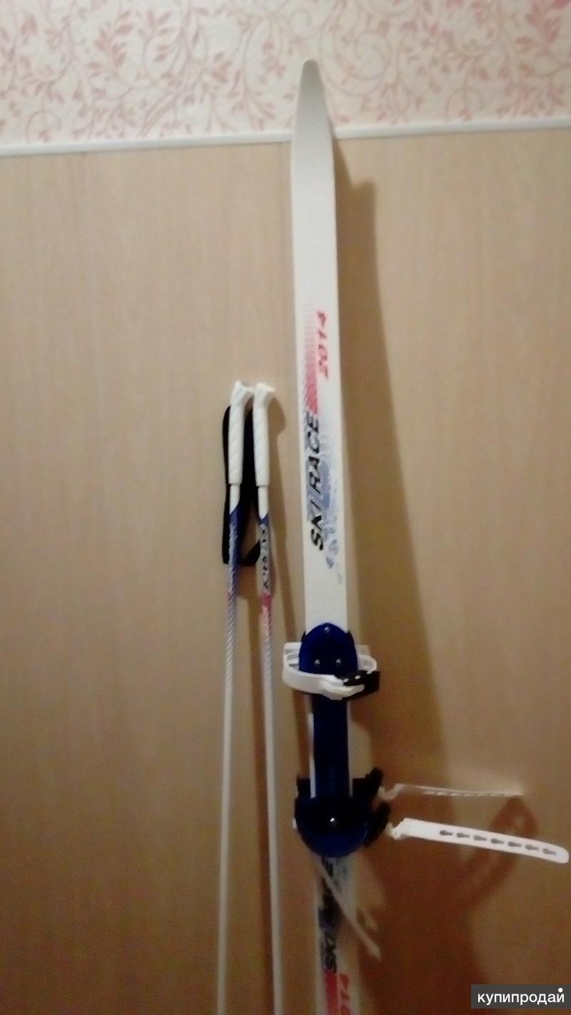 Породам детские лыжи,санки,конькм