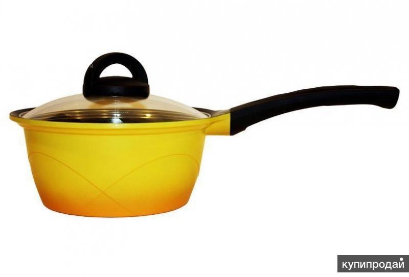 Ковш Home chef с керамическим покрытием, 18 см