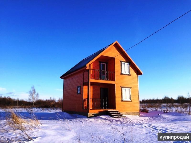 Новый дом в с. Веськово