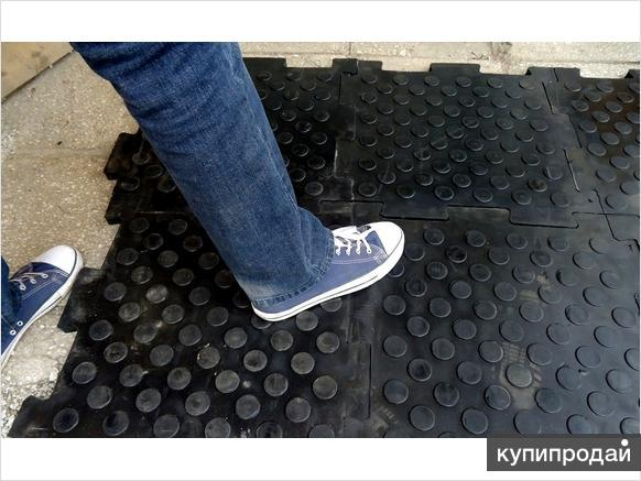 Вулканизированная резиновая плитка для пола и тротуара
