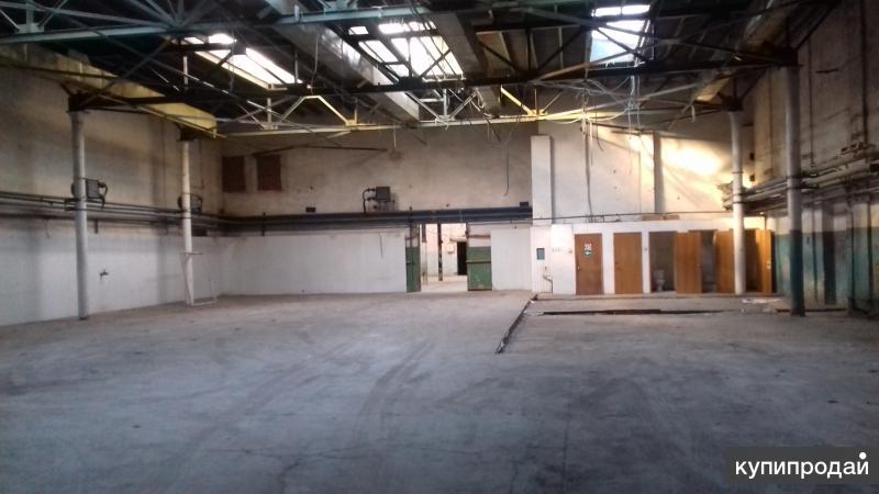 Сдается в аренду производственно-складское помещение, 1320м2