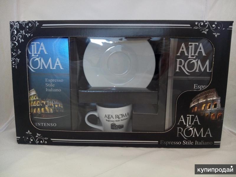 """Кофе Alta Roma """"Подарочный набор"""", 500 гр"""
