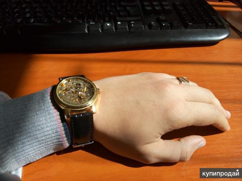 Часы Winner - купить часы Виннер Скелетон, цена в Москве