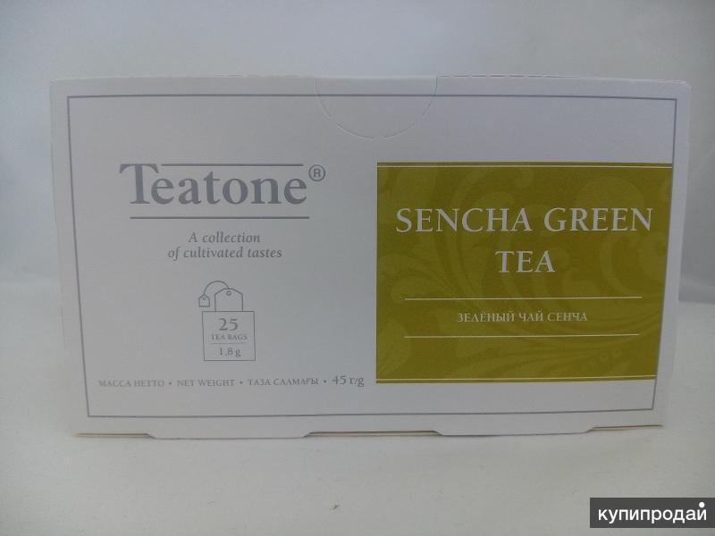 Чай зеленый китайский сенча в пакетиках 1,8 г