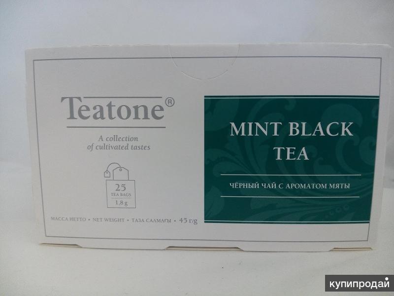 Чай черный с ароматом мяты в пакетиках 1,8 г