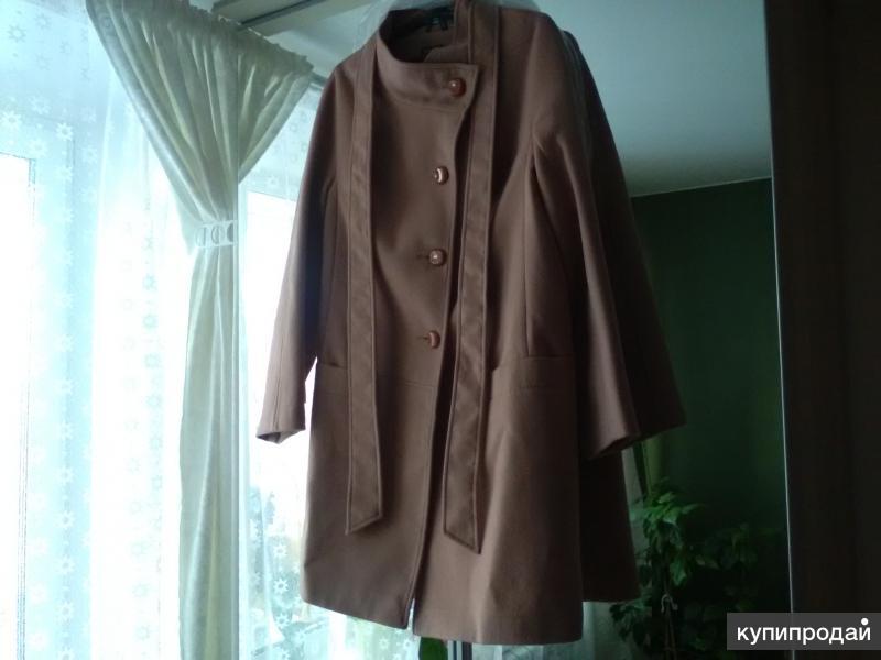 Продам пальто. Кашемир. 48 размер. Производство Россия. Новое. С бирками.