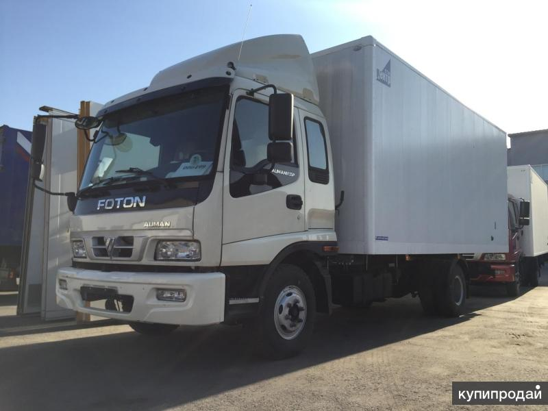Изотермический фургон на базе Foton 1093 7 тонн
