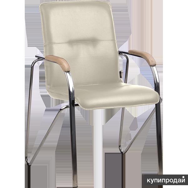 Кресло для посетителя РС-16 металлик