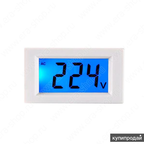 Вольтметр цифровой, напряжение ~ 80-500В (000260)
