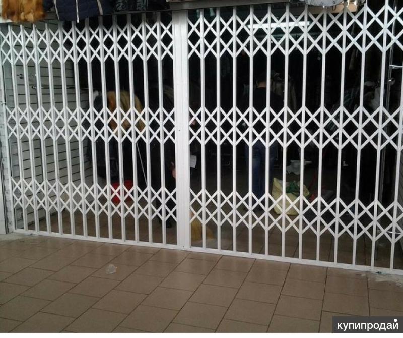 изготовление металлической двери решетки