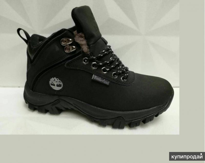 Зимние Тимберленд Новые (нат. мех и нат. кожа) 39-40 размера ботинки Timberland