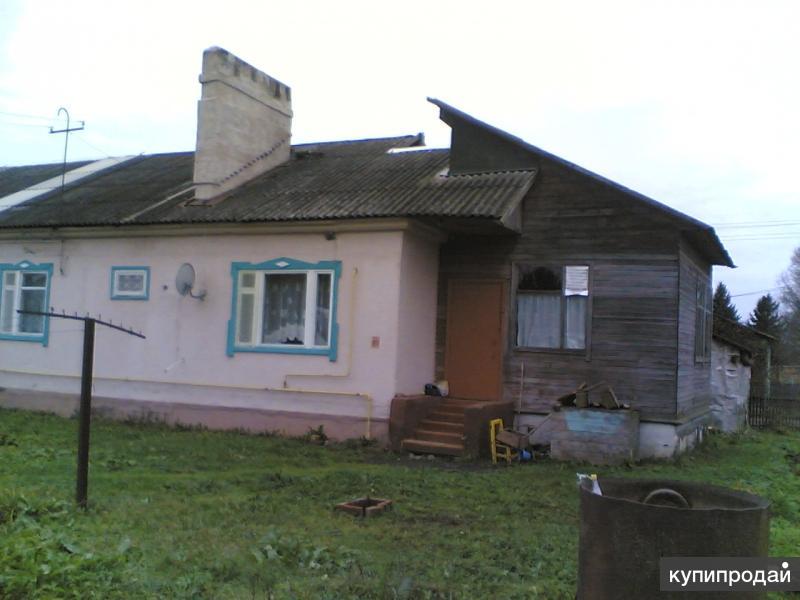 Коттедж 74 м2 со всеми удобствами в деревне. Требует косметического ремонта.