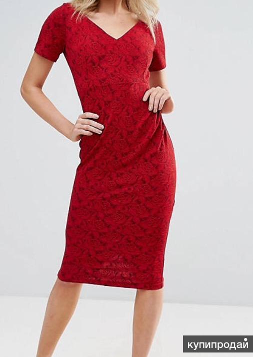 Вечернее платье футляр бренда Vesper, р. 40-42