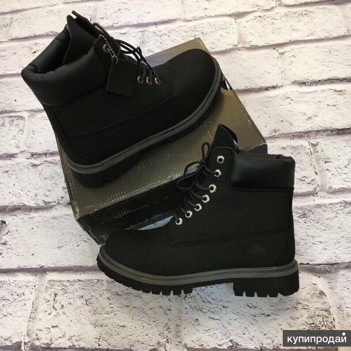 НОВЫЕ ботинки Timberland (Натур. мех) 36-39 размера Тимберленд