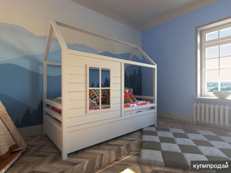 Кровати домики тюмень