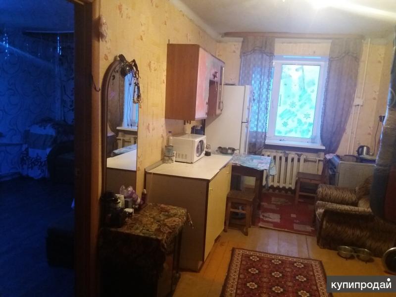 Две смежных комнаты, 40 м2, 2/4 эт.