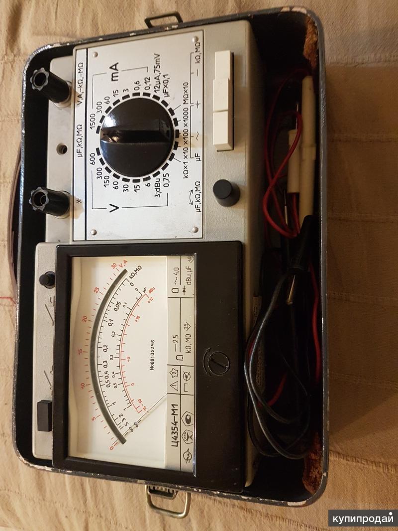 Тестер-мультиметр ц4354м1 (цешка)