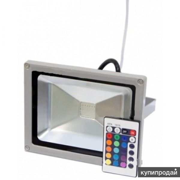 RGB прожектор 30Вт
