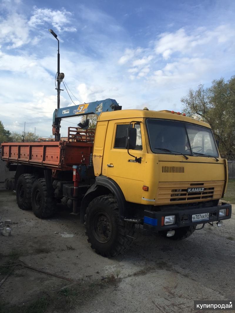 Услуги Камаз-4310 Манипулятор - вездеход 3 т. TADANO
